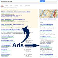 pay per click ad screenshot