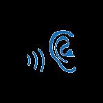 Ear blue